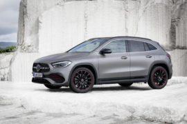 Mercedes-Benz GLA, Edition1, AMG Line, mountaingrau magno